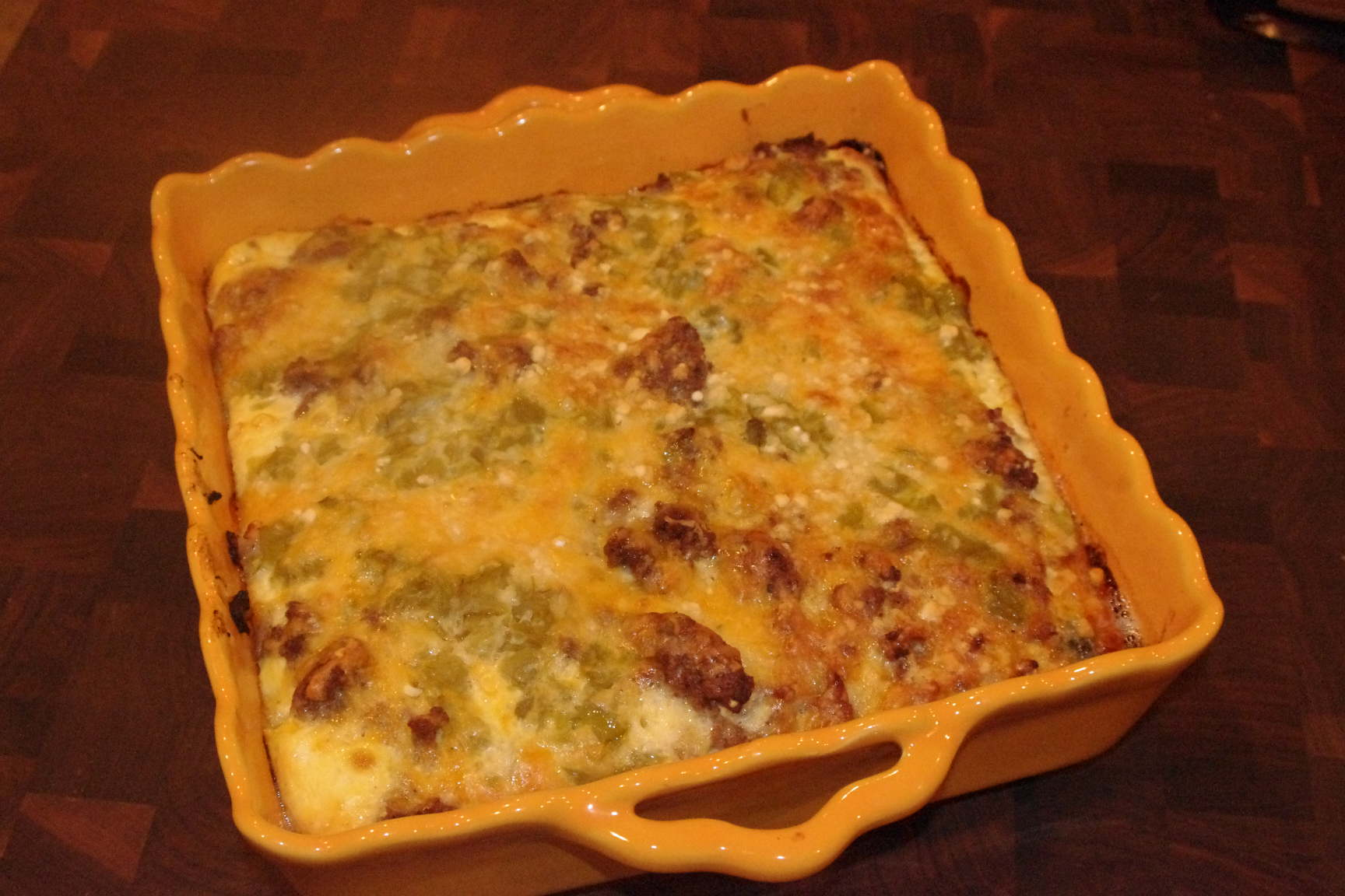 Chile Relleno Casserole | Relish Food & Life with Jill