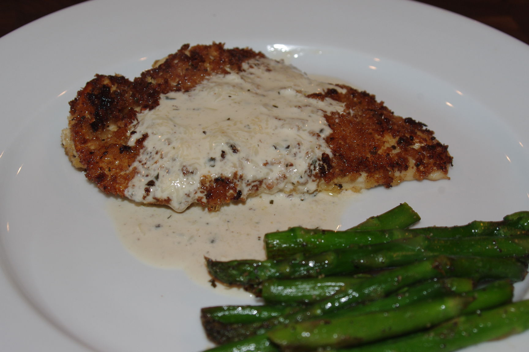 Chicken In Basil Cream Recipe — Dishmaps