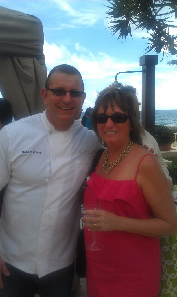 Another favorite, Robert Irvine from Restaurant Impossible.