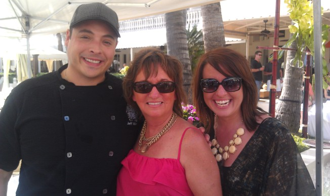 Jeff Mauro, winner Next Network Star. He has a show on Food Network, Sandwich King..
