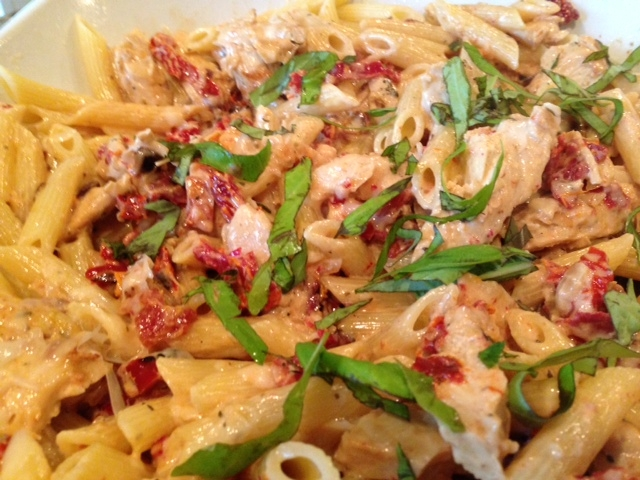 Chicken Pasta with a Creamy Sun-dried Tomato Sauce | Relish Food ...